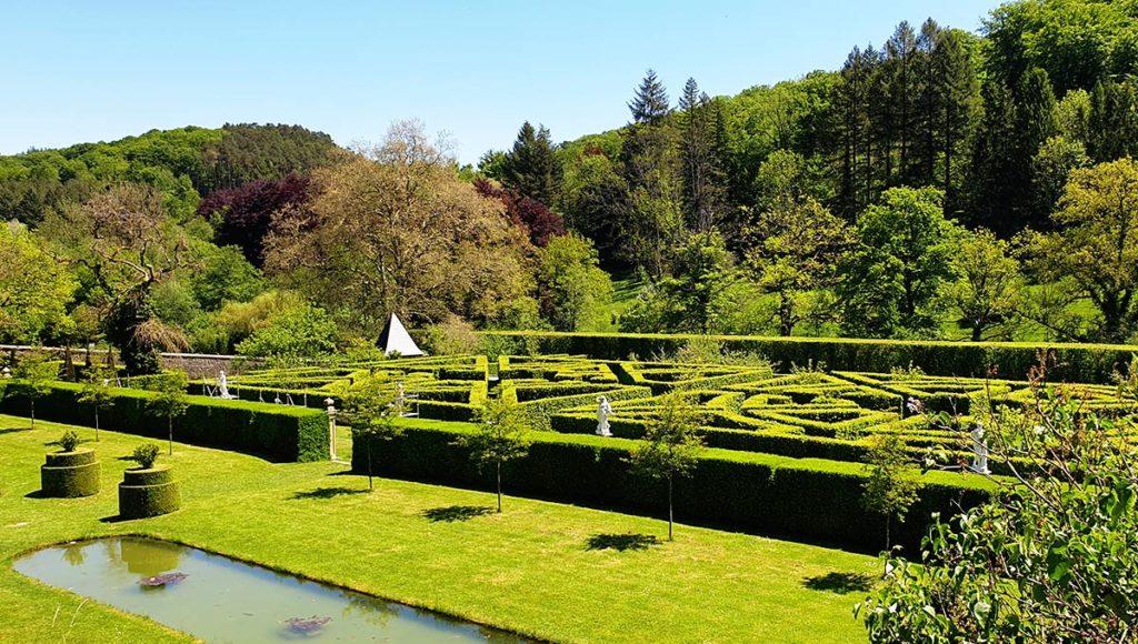 Luxemburg Schloss Ansembourg Garten