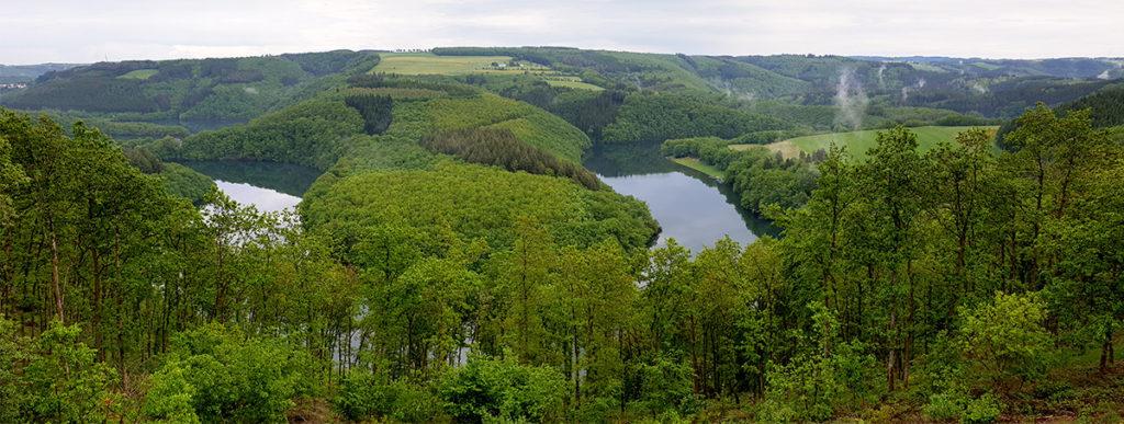 Wandern in Luxemburg - Naturpark Obersauer