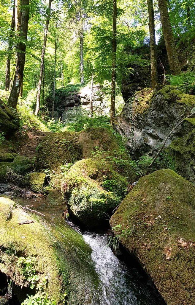 Wandern in Luxemburg - Haupeschbaach