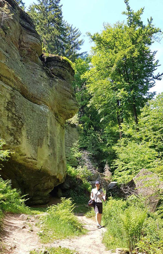 Wandern in Luxemburg - rund um Burg Befort