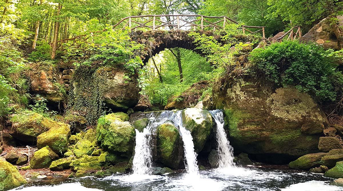 Wandern in Luxemburg - Schiessentümpel