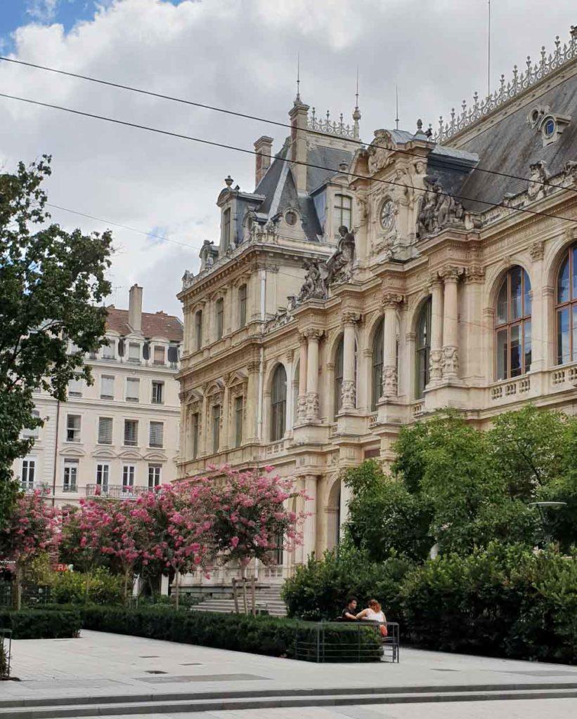 Prachtbauen in Lyon