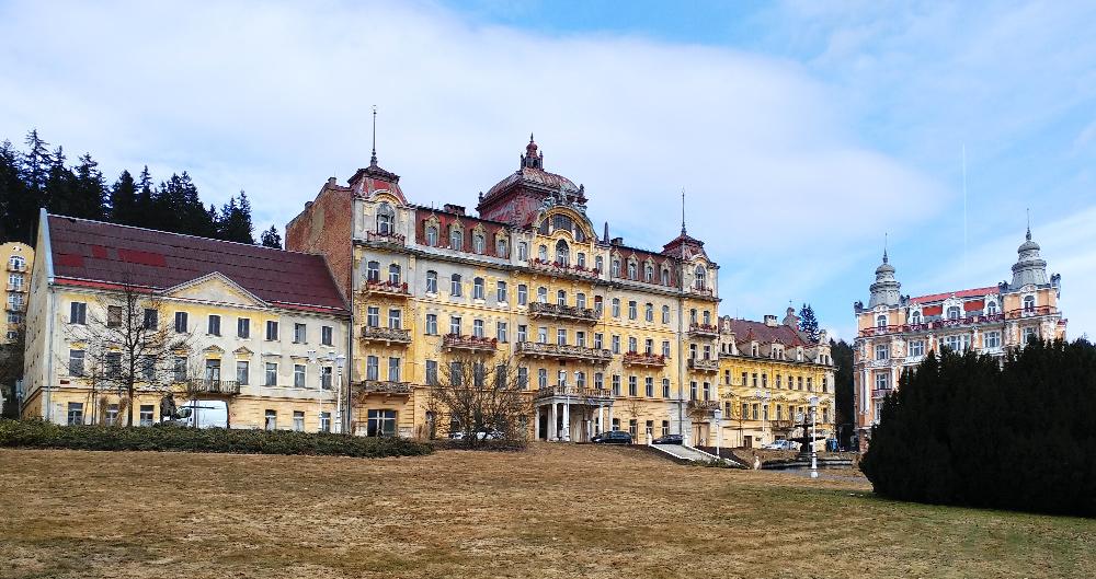 Tschechien - westböhmisches Bäderdreieck - Marienbad Goethe Straße