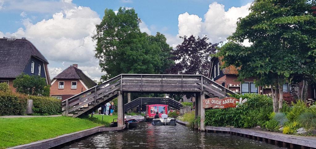 Bootstour durch Giethoorn - Holland - Niederlande - De Oude Aarde