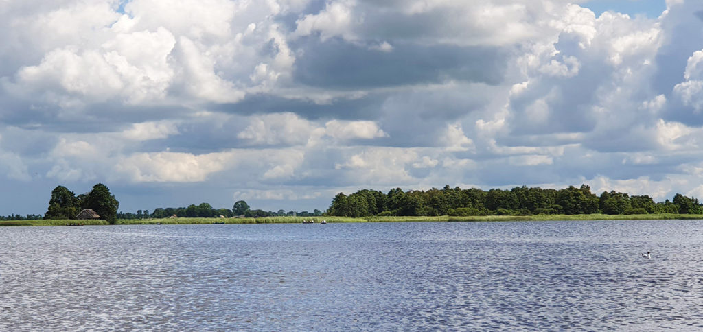 Bootstour durch Giethoorn - Holland - Niederlande - Bovenwijde - Landschaft