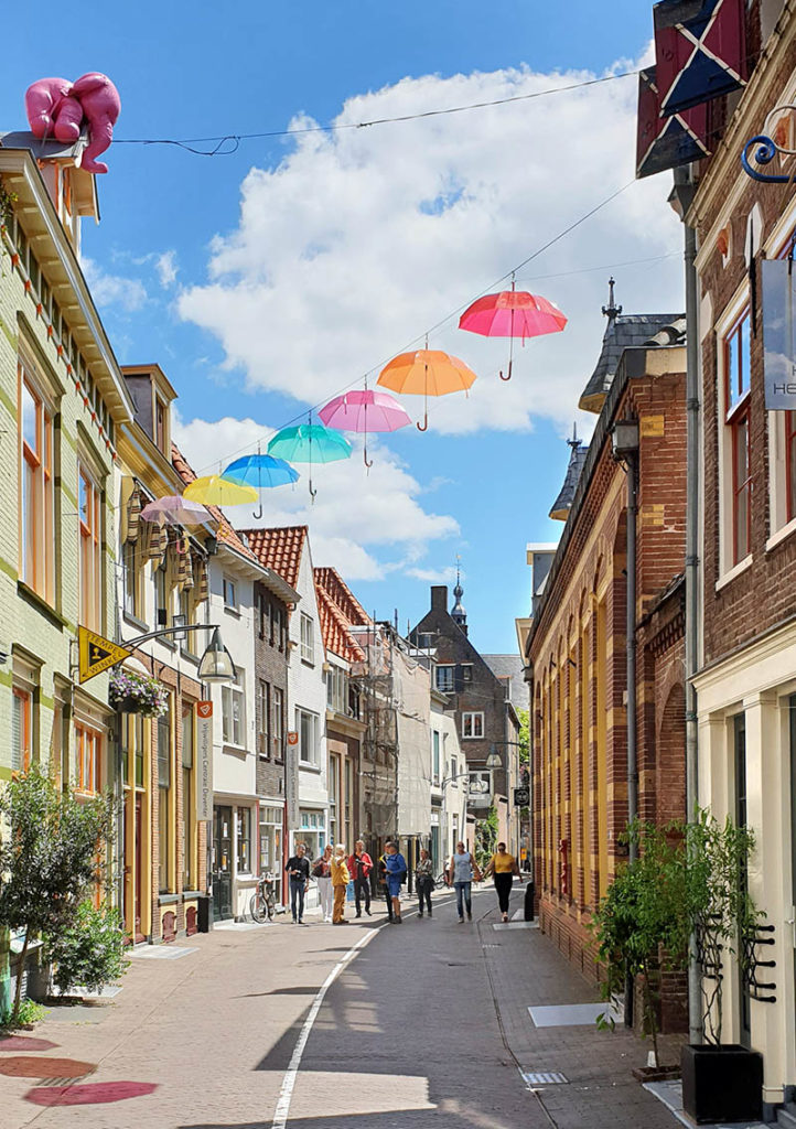 Die niederländischen Hansestädte - Deventer shopping