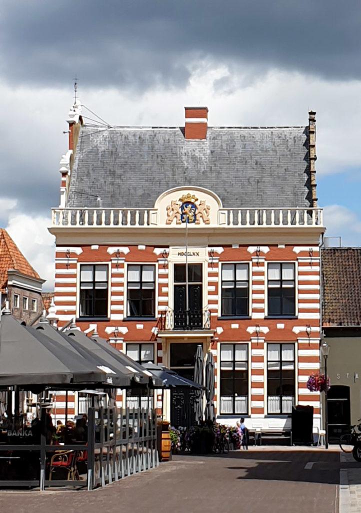 Die niederländischen Hansestädte - Hattem Rathaus