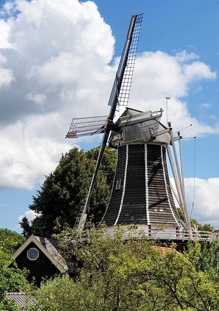 Die niederländischen Hansestädte - Hattem Windmühle