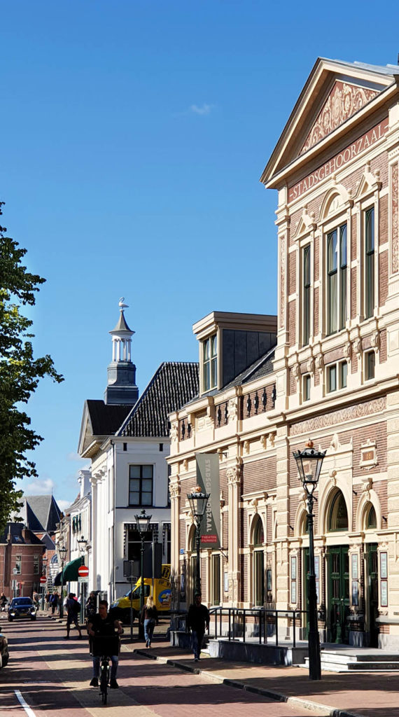 Die niederländischen Hansestädte - Kampen Straßenzug