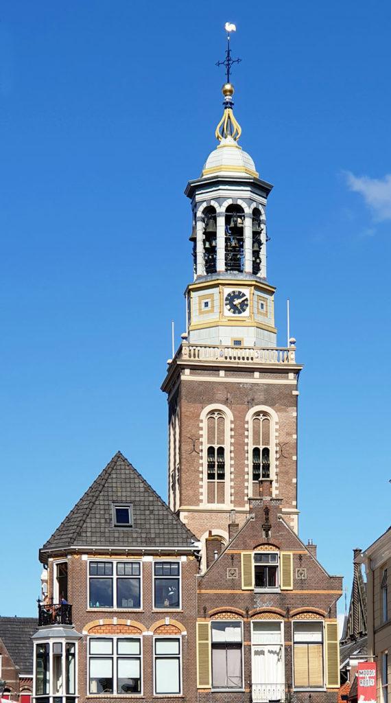 Die niederländischen Hansestädte - Kampen Detail Nieuwe Toren