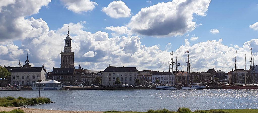 Die niederländischen Hansestädte - Kampen Skyline