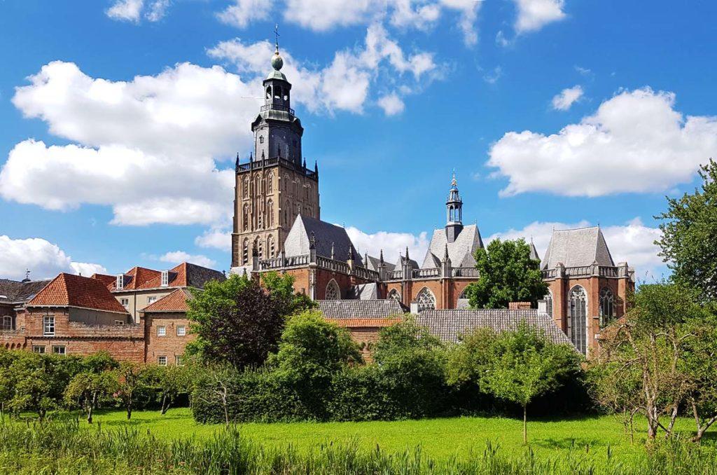 Die niederländischen Hansestädte - Zutphen Walburgiskerk