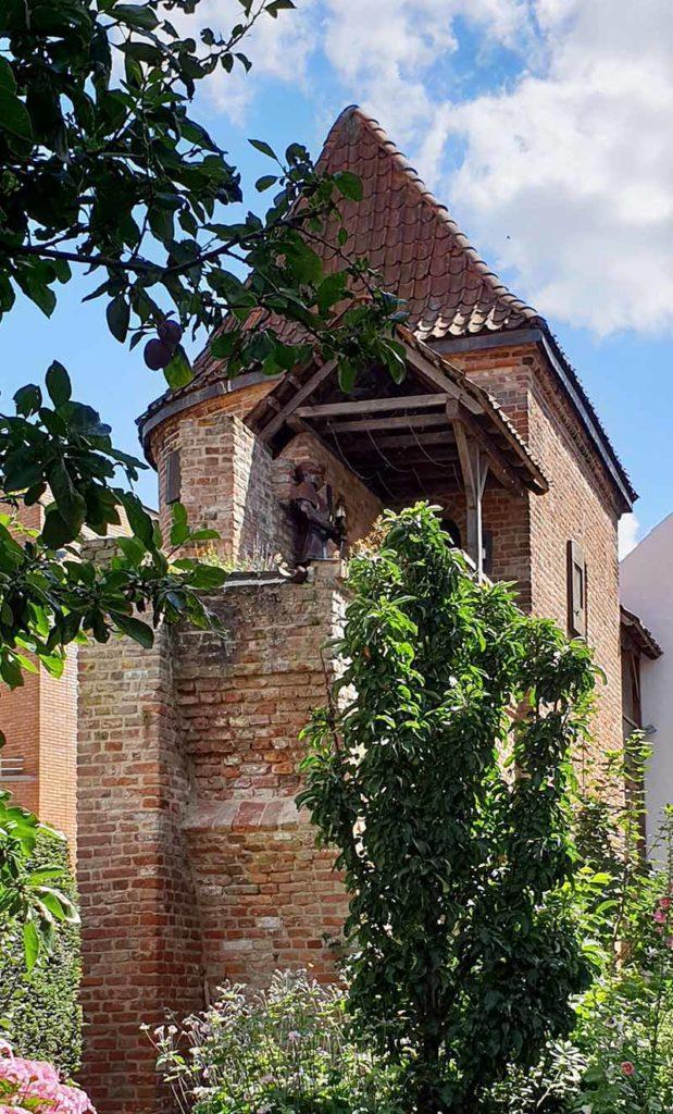 Die niederländischen Hansestädte - Zutphen Stadtmauer