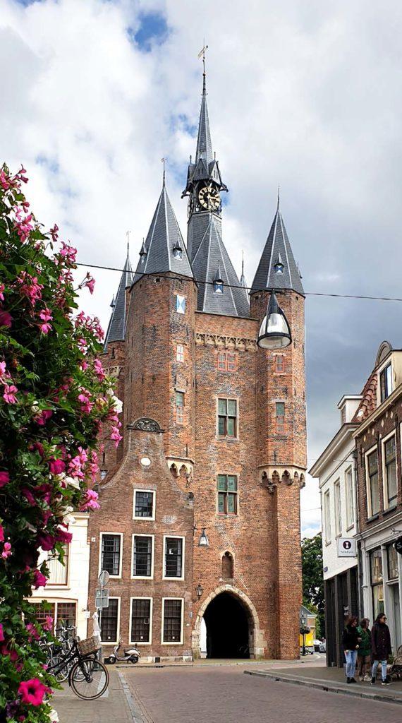 Die niederländischen Hansestädte - Zwolle Sassenpoort