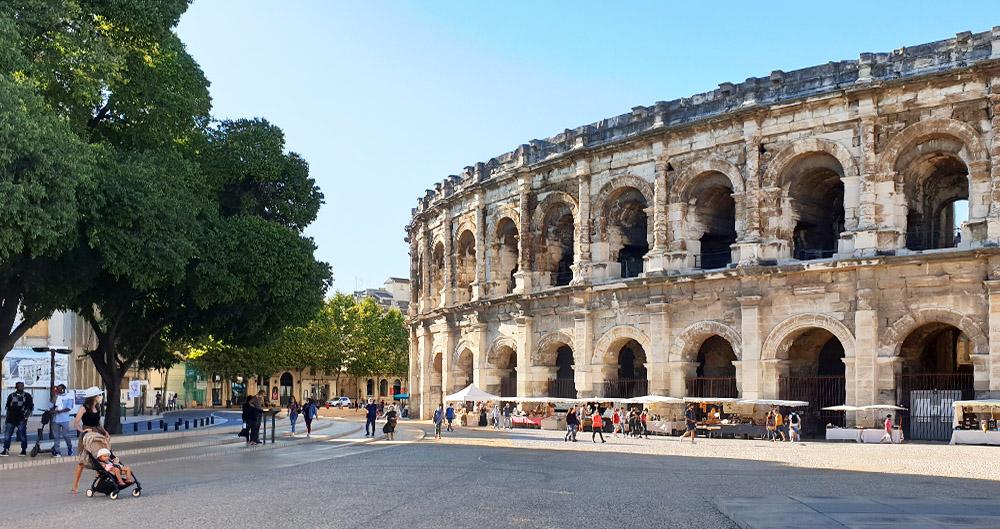 Kolosseum in Nimes