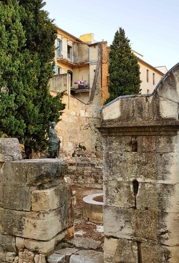 Porte d'Auguste in Nimes