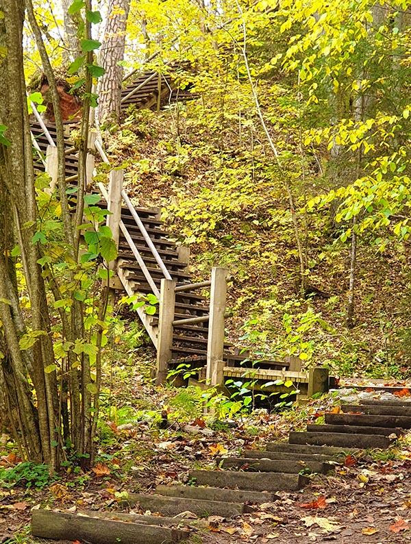 Treppensteigen für Fortgeschrittene