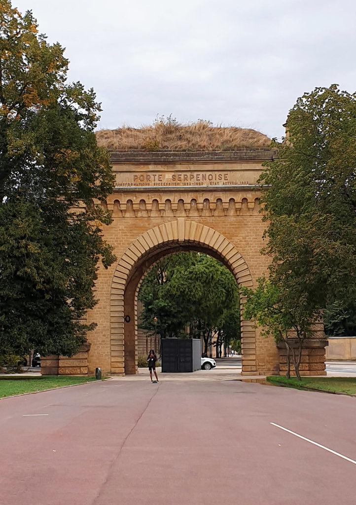 Porte Serpenoise - Metz