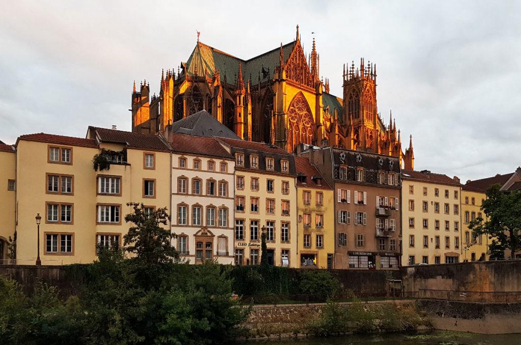 Blick auf die Cathédrale Saint Etienne