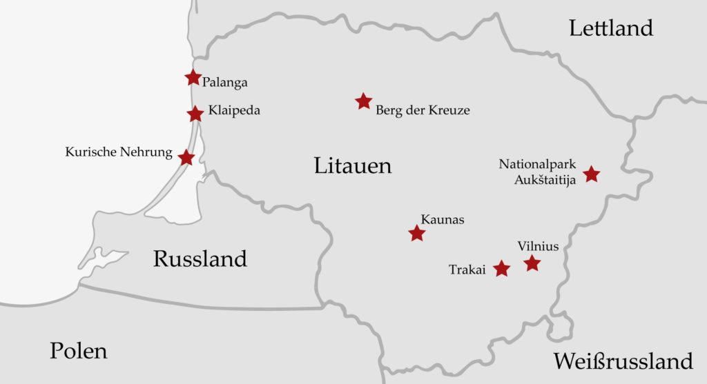 Reiseziel Litauen Übersicht Reiseblog Artikel reisen-und-blog