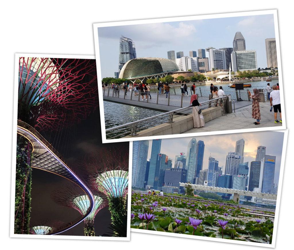 Übersicht Reiseziele Asien Singapur
