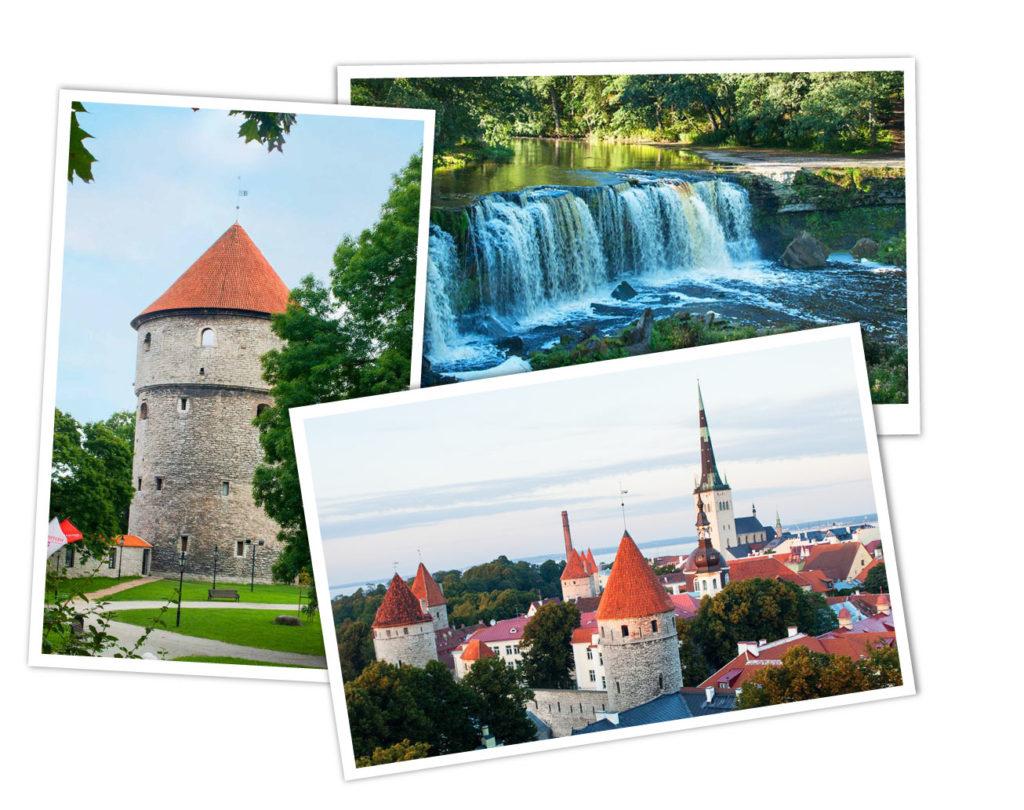 Übersicht Reiseziele Estland