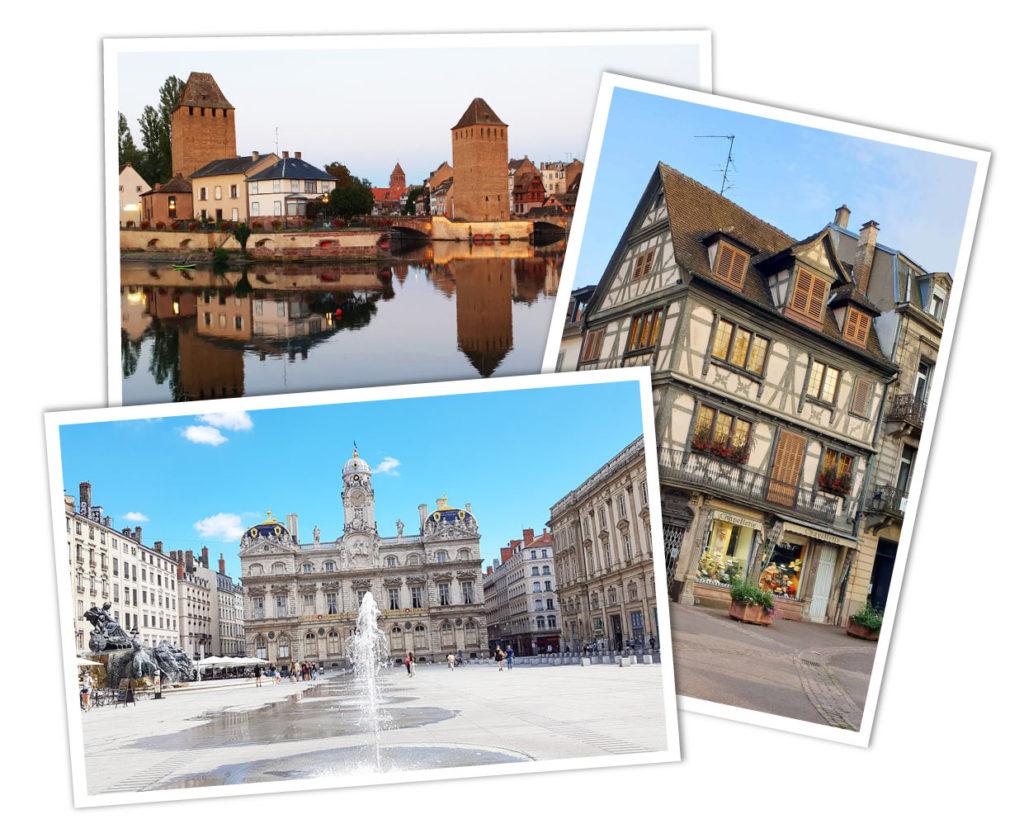 Übersicht Reiseziele Frankreich