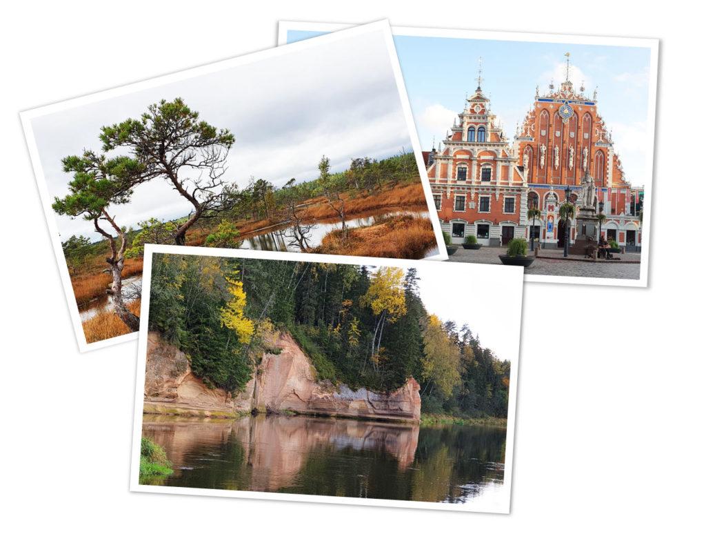 Übersicht Reiseziele Lettland