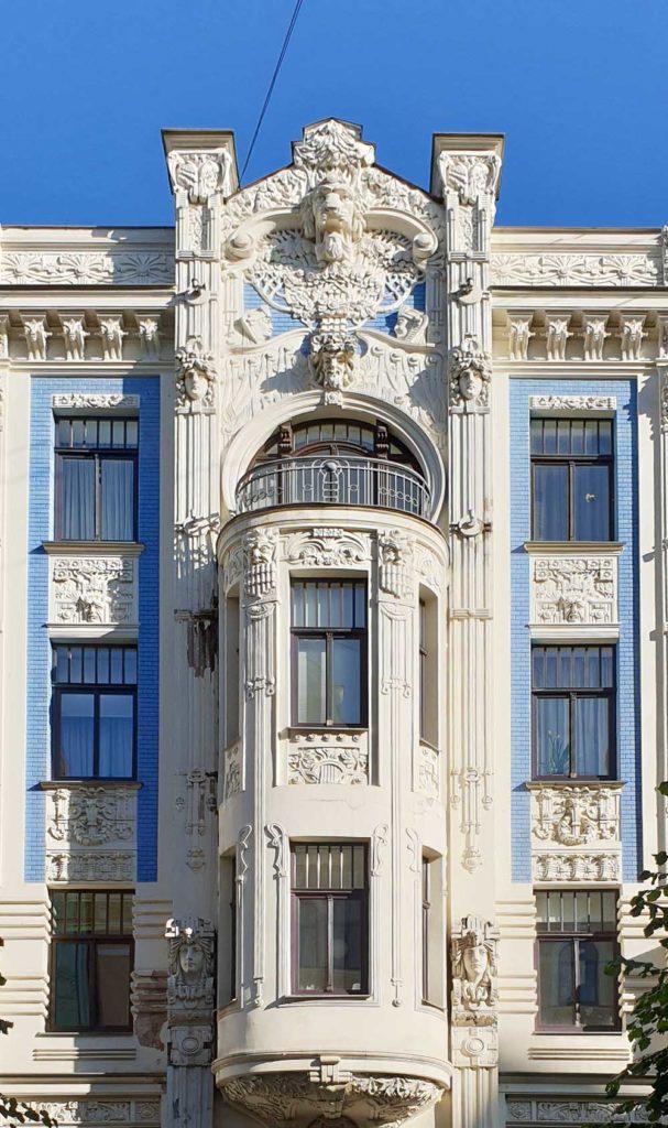 Jugendstilarchitektur in Riga