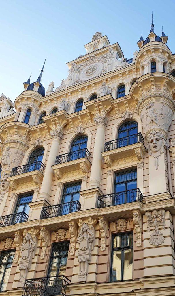 Riga - Jugendstilarchitektur