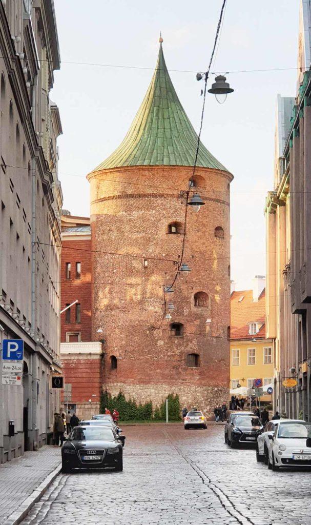 Der Pulverturm in Riga