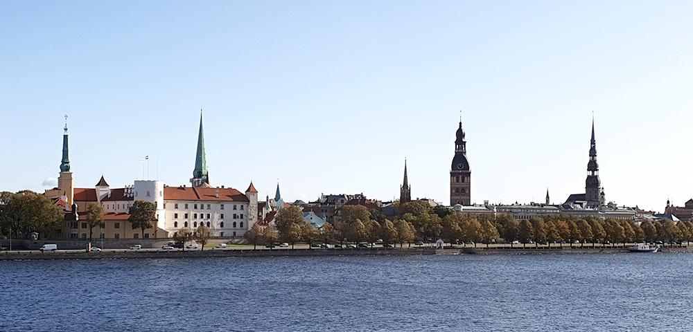 Blick auf Rigaer Schloss