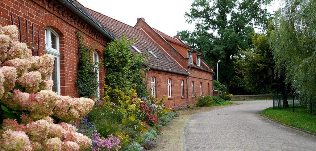 Häuser im Storchendorf Rühstädt