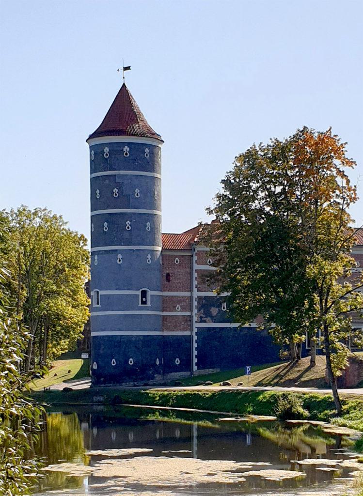 Schloss Panemune - auf der Burgenstrasse zwischen Kaunas und Klaipeda.