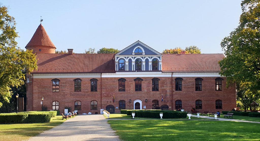 Schloss Raudondvaris - Burgenstrasse bei Kaunas in Litauen