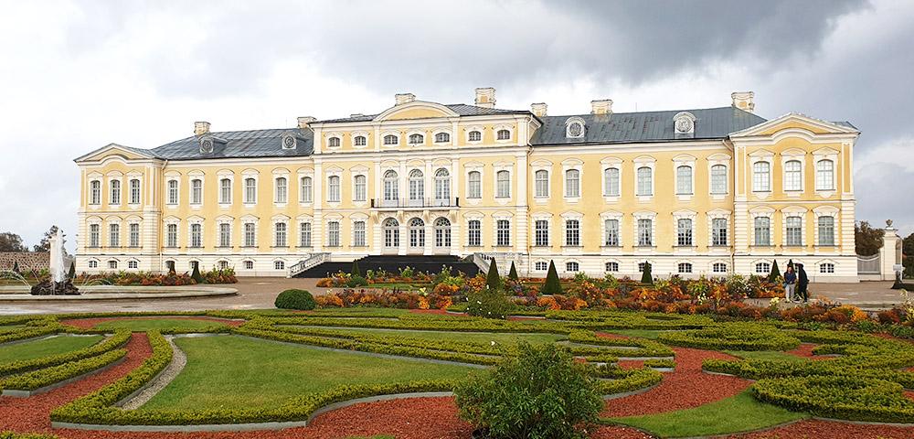Ausflugsziele rund um Riga - Schloss Rundale