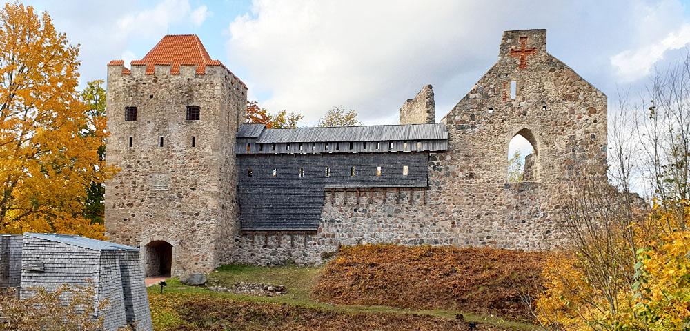Schwertbrüderordensburg in Sigulda