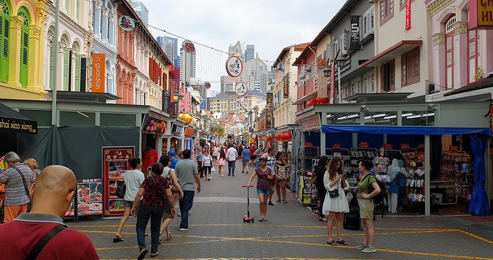 China Town - Singapur