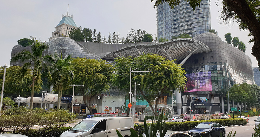 Shopping Mall Ion Orchard Singapur