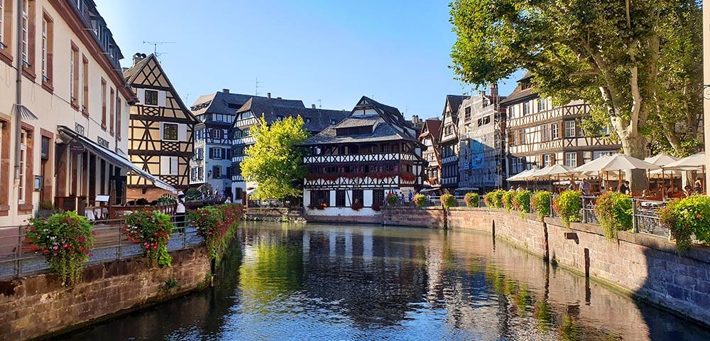 Fachwerkhaus in Strassburg