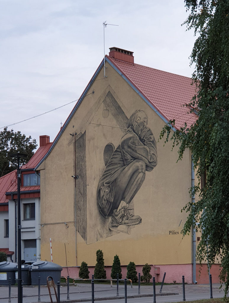 Streetart in Kaunas