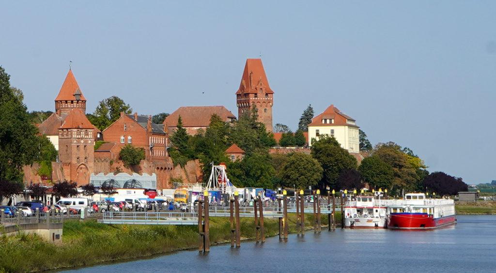 Burg und Stadtmauer Tangermünde - Altmark