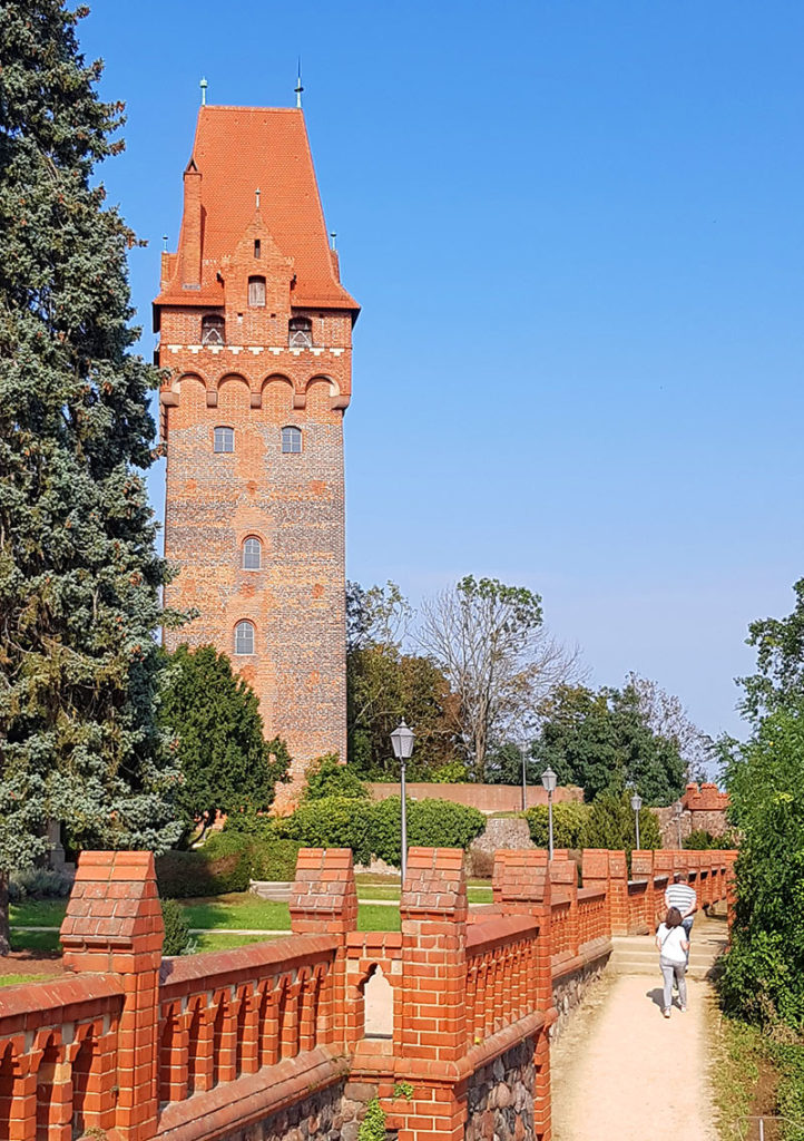 Kapitelturm auf der Burg Tangermünde - Altmark