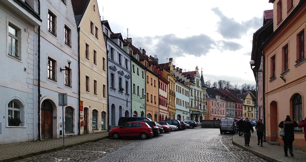 Tschechien Loket Zentrum