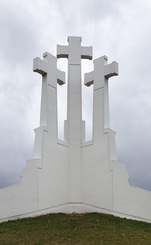 Freiheitssymbol in Vilnius - die drei Keuze