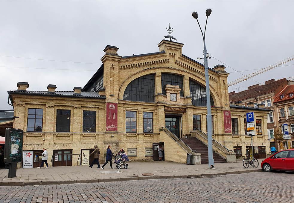 Markthalle in Vilnius - Halės turgus